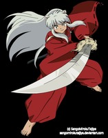 Wooden Replica Of The Anime Sword Tessaiga From Inuyasha Sbg